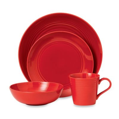 Gordon Ramsay by Royal Doulton® Maze Chili 4-Piece Set in Red