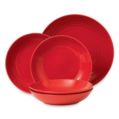 Gordon Ramsay by Royal Doulton® Maze Chili 5-Piece Pasta Set in Red