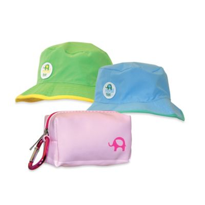Floppy Tops Ultra Compact Reversible Sun Hat in Yellow