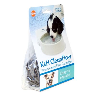 K&H CleanFlow™ Medium Replacement Filter Cartridges (3-Pack)