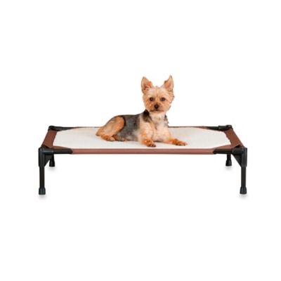 K&H Self-Warming Medium Pet Cot™ in Chocolate