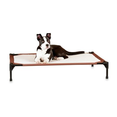 K&H Self-Warming Large Pet Cot™ in Chocolate
