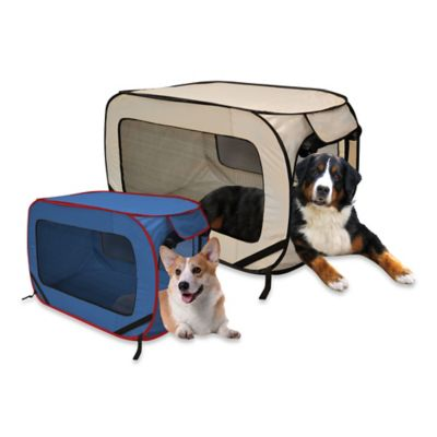 Pop-Up Extra Large Pet Kennel in Khaki
