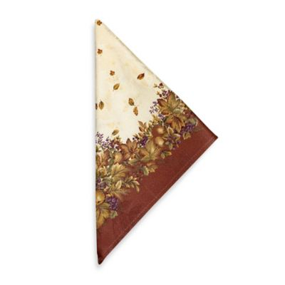 Harvest Jubilee Spice Napkins (Set of 4)