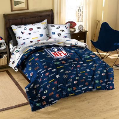 Buy Nfl Team Logo Full Comforter From Bed Bath Amp Beyond