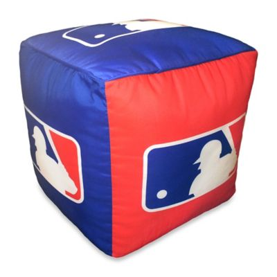 MLB All-League Cube Pouf Ottoman