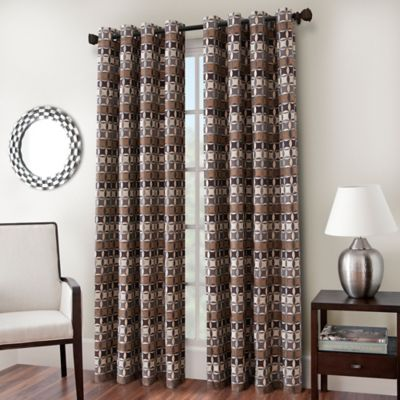 Cadence 63-Inch Window Curtain Panel in Desert
