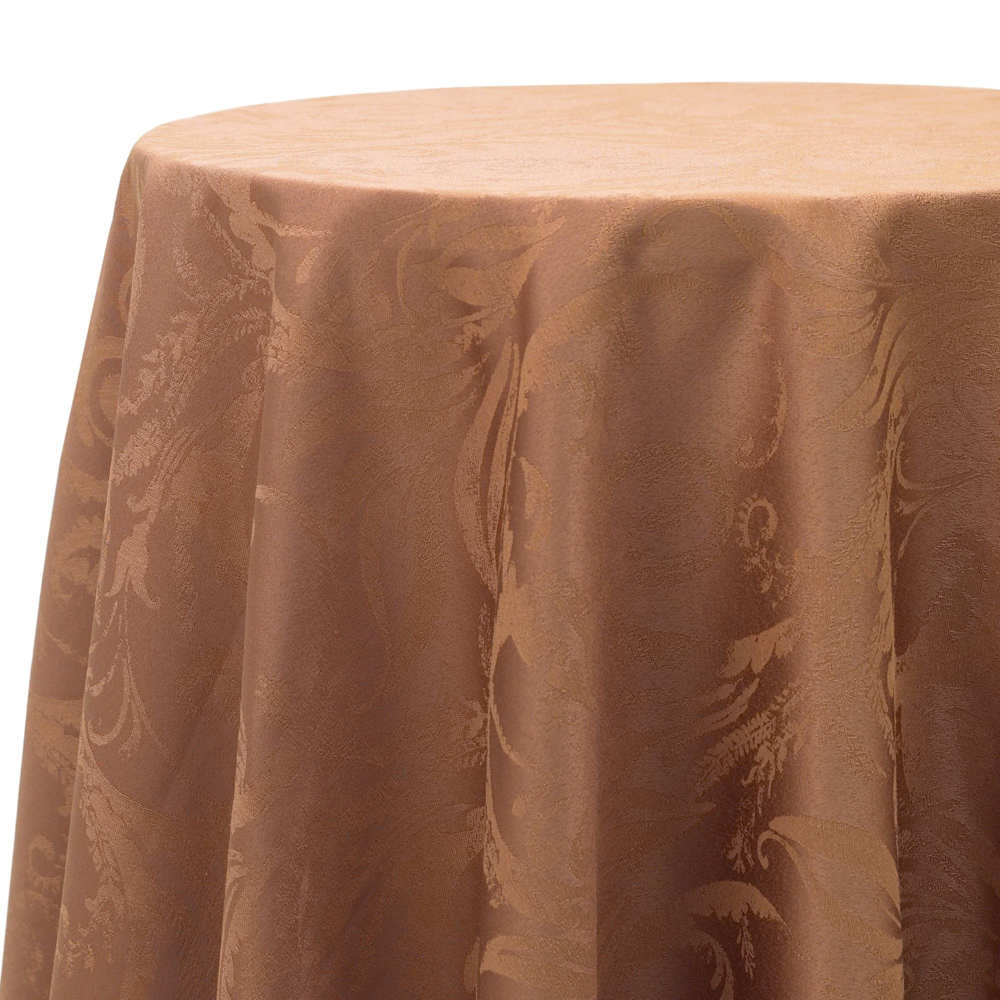 Autumn Tablecloths Round Round Tablecloth in Bronze