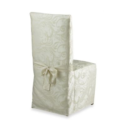 Buy Spring Blossoms Damask Dining Room Chair Cover In