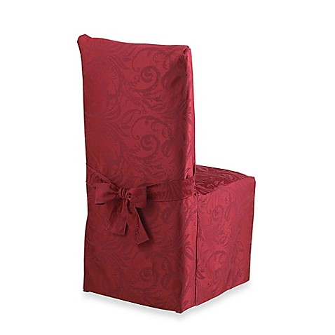 Autumn Scroll Damask Dining Room Chair Cover Bed Bath