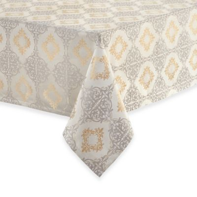 Waterford® Linens Valentina 70-Inch x 84-Inch Oblong Tablecloth