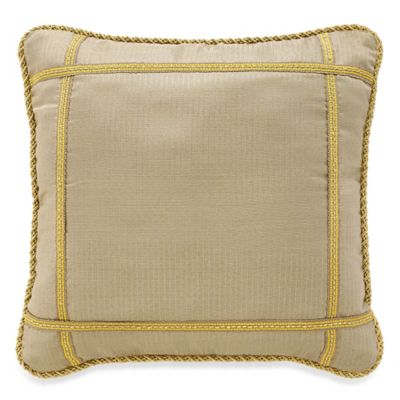 Croscill® Emperor Square Throw Pillow