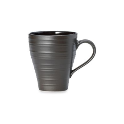 Mikasa® Swirl Square 18 oz. Mug in Chocolate