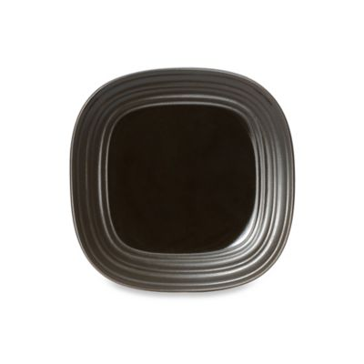 Mikasa® Swirl Square 8-1/2-Inch Salad Plate in Chocolate