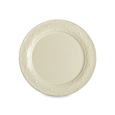 Meridian Cream Decorated 11.25-Inch Dinner Plate