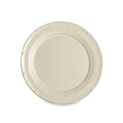 Meridian Cream Plain 11.25-Inch Dinner Plate
