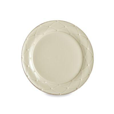 Meridian Cream Round 9.5-Inch Salad Plate