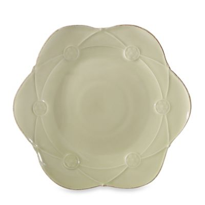 Meridian Decorated Green 9.5-Inch Salad Plate