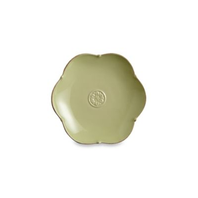 Meridian Round Green 6.25-Inch Bread and Butter Plate