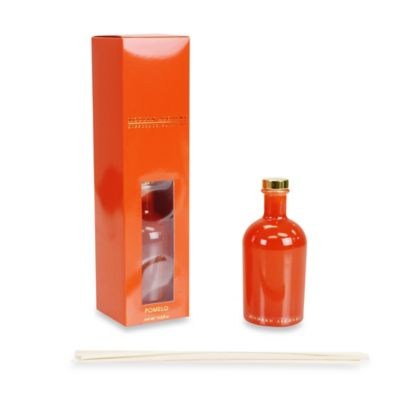 Modern Alchemy Pomelo Scented Reed Diffuser in Orange