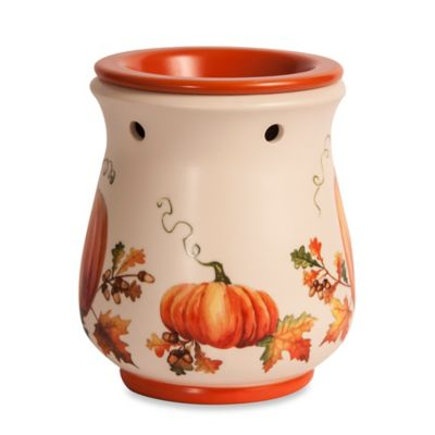 Harvest Garden Ceramic Fragrance Hearth Wax Warmer