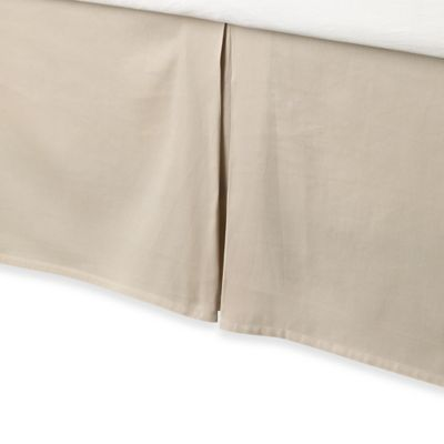 Anthology™ Whisper California King Bed Skirt in Oatmeal