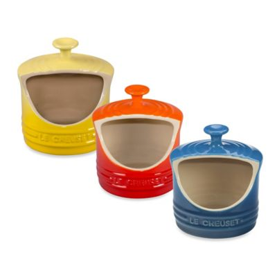 Le Creuset® Salt Crock in Flame Orange