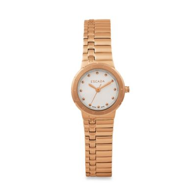 Ion Rose Gold-Plated Stainless Steel Women's Watches
