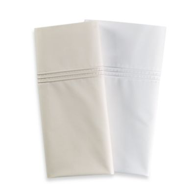 Frette At Home Adige King Pillowcase in White