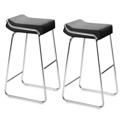 Zuo® Modern Wedge Bar Chair (Set of 2)