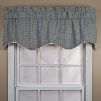 Landis 15-Inch Window Valance in Black
