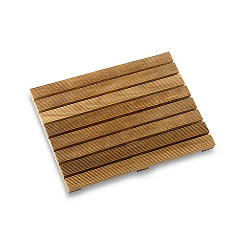 conair pollenex solid teak shower mat bed bath beyond. Black Bedroom Furniture Sets. Home Design Ideas