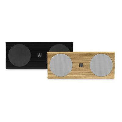 Soundfreaq Double Spot Home Speaker in Wood/White