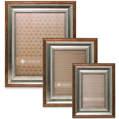 Lawrence Frames Tatum 4-Inch x 6-Inch Picture Frame in Silver and Gold