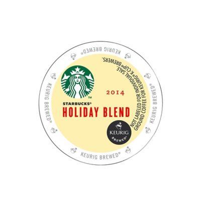 Keurig® K-Cup® Pack 16-Count Starbucks® Holiday Blend Coffee