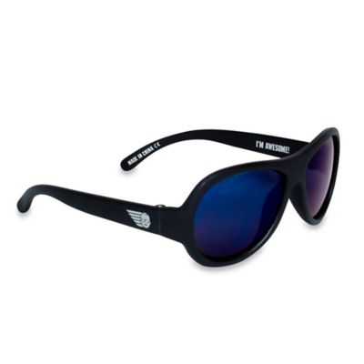 Babiators® Junior Polarized Infant Sunglasses in Black Ops