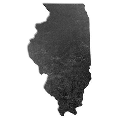 Illinois Slate Cheese Board