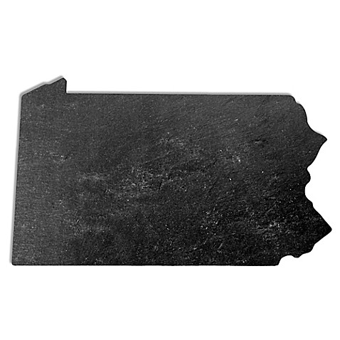 Top Shelf Living Pennsylvania Slate Cheese Board