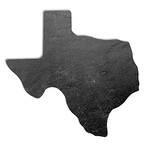 Top Shelf Living Texas Slate Cheese Board
