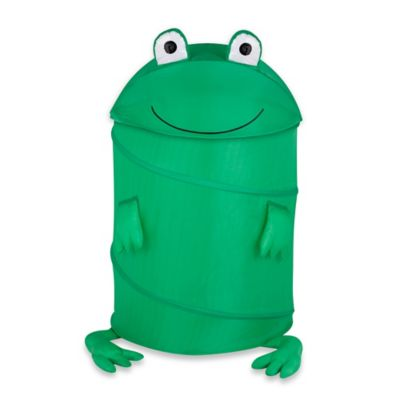 Lee P. Frog Large Clothes Hamper