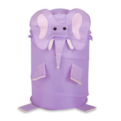 Pack E. Derm Elephant Large Clothes Hamper