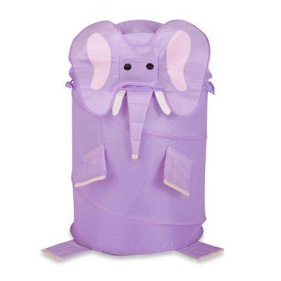 Pack E. Derm Elephant Large Clothes Hamper