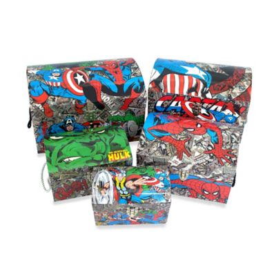 Marvel Comics Nested Dome Trunks (Set of 5)