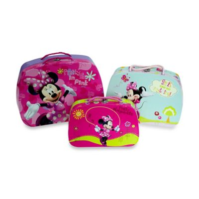 Disney® Minnie Paper Storage Boxes (Set of 3)