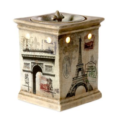 Paris Ceramic Fragrance Hearth Wax Warmer