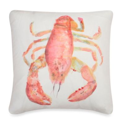 Thro Stacey Lobster Throw Pillow