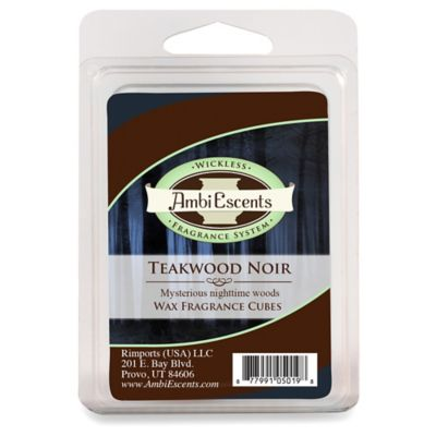 Teakwood Noir Fragrance Cubes
