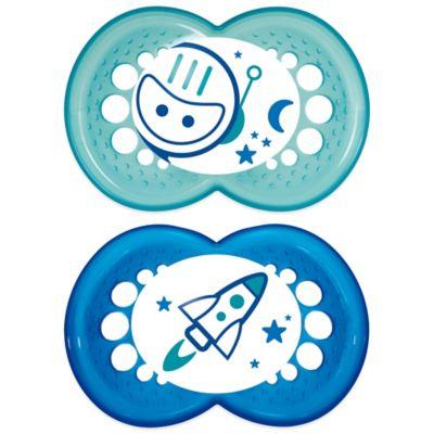 Blue Months Pacifier