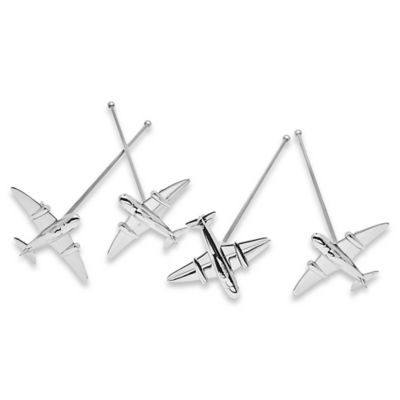 Godinger Airplane Stirrers (Set of 4)