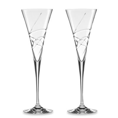 Lenox® Adorn Toasting Flutes (Set of 2)